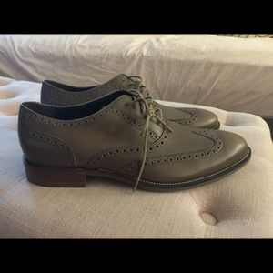 10.5 Cole Haan Oxford Wing Tips (Chocolate)